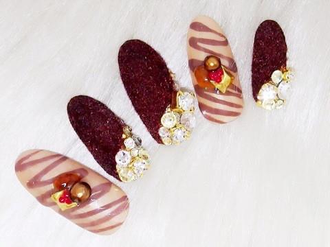 1月の新作 ベルベット チョコレート