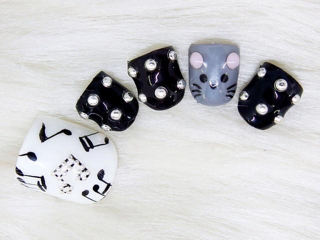 9月の新作 猫&ネズミ in the music♪